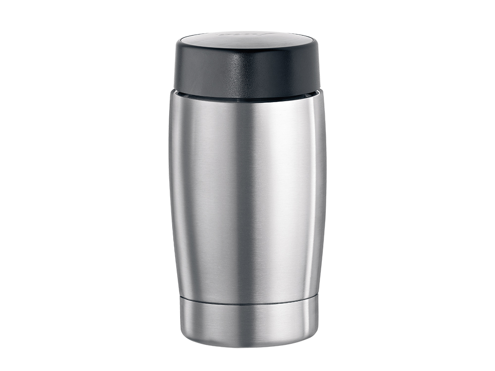 Stainless steel vacuum milk container 0.4 litres / 13.5 oz.